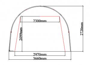 SS122009R W3.66xL6.1xH2.72m